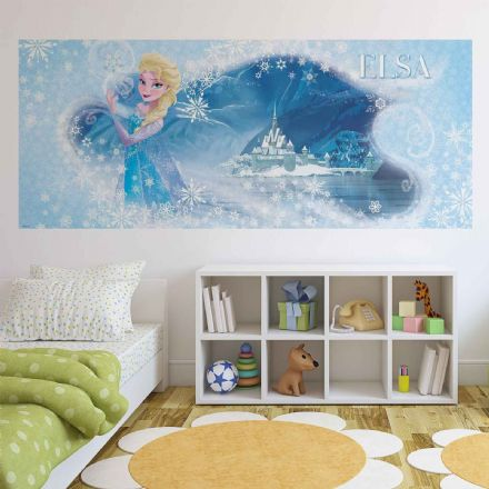 Panoramic wallpaper mural Disney Frozen Elsa